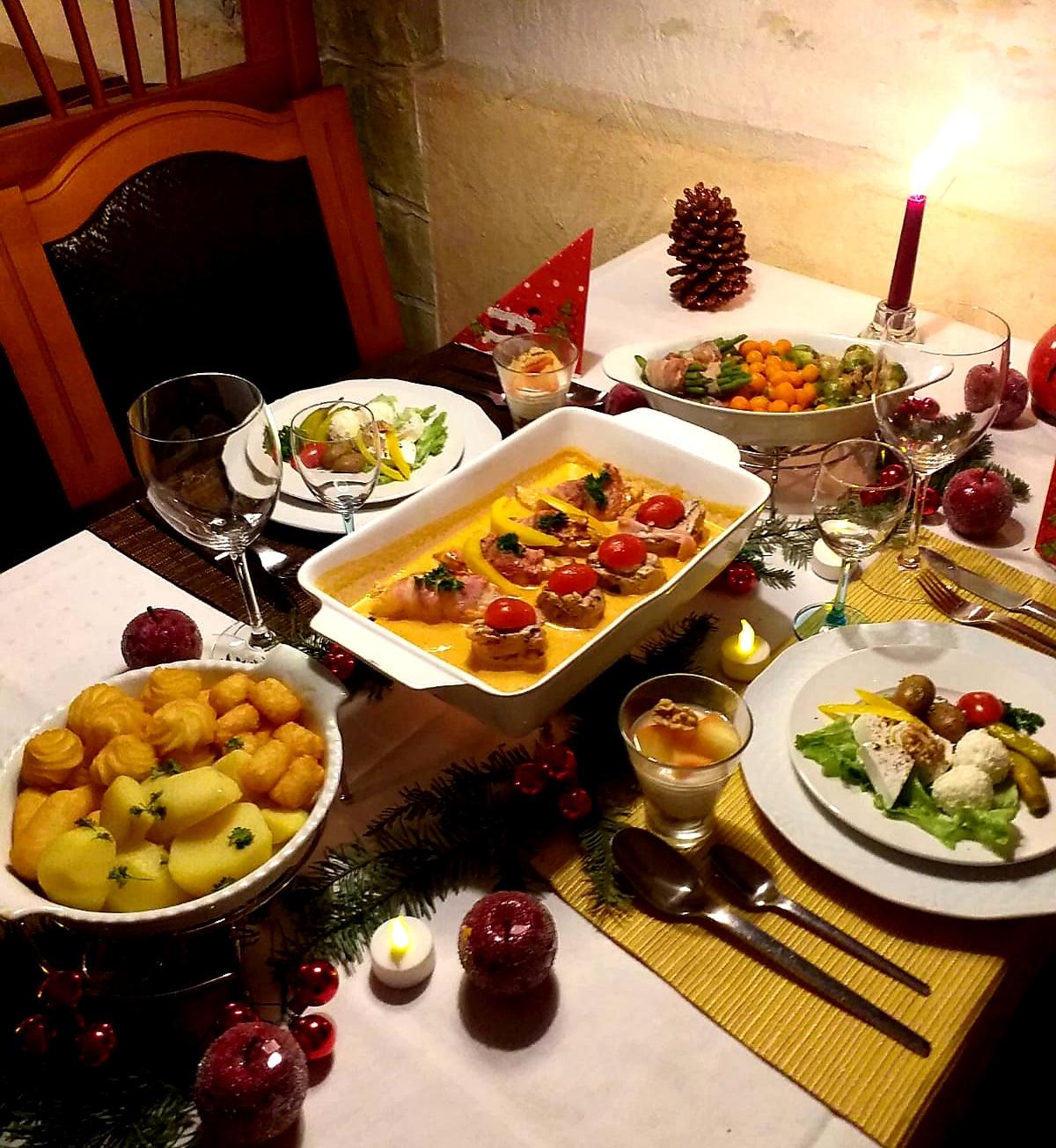 Unser Weihnachts- und Silvestermenü (22/12/2020 – 03/01/2021)